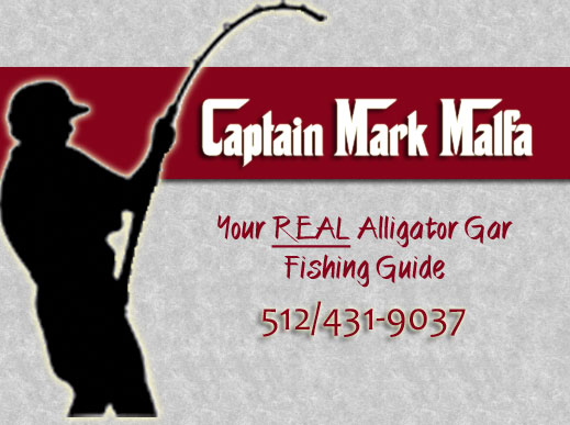 Alligator Gar Fishing Guide in Texas