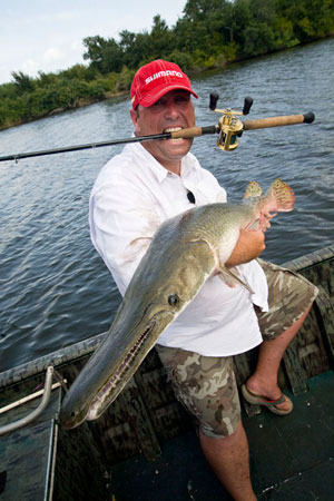 Happy Alligator Gar Client